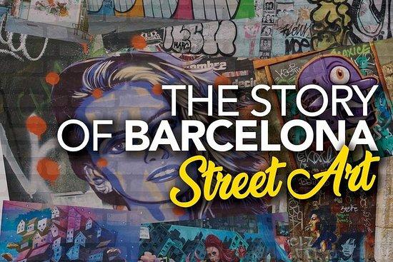 Foto de La historia de Barcelona .. Arte callejero!