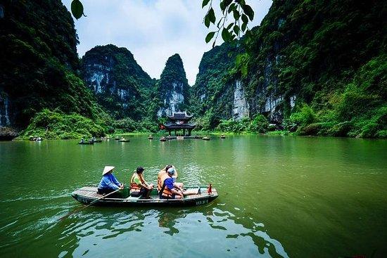 Caverna Mua incrível - Hoa Lu - Trang...