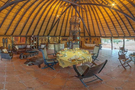 Lounge at Ohorongo Lodge
