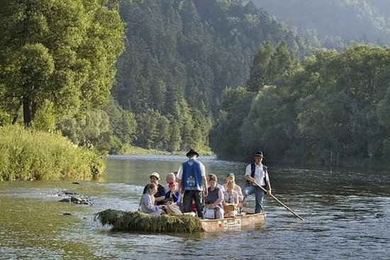 Desfiladero del río Dunajec y...