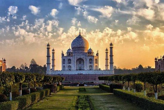德里的泰姬陵和阿格拉堡私人日出之旅