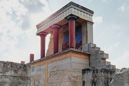 查尼亞的宙斯和克諾索斯宮貴賓洞穴司機接送私人之旅