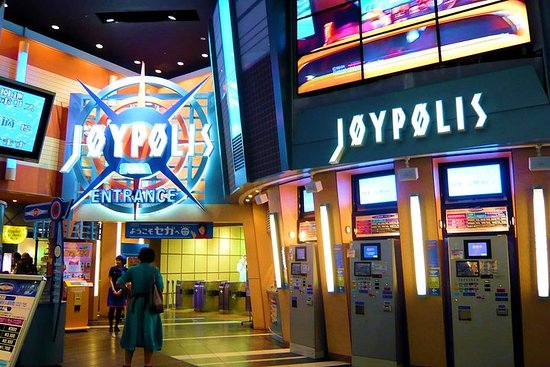 Entrada al pasaporte Joypolis de Tokio