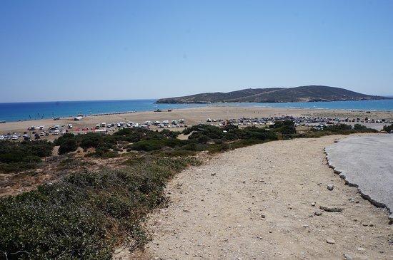 Prassonissi, Yunanistan: Strand von Oben