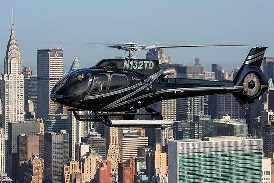 Sortie en hélicoptère à New York...