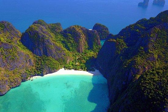V. Marine Tourのピピ島への冒険日帰りツアー(海の見える場所での…