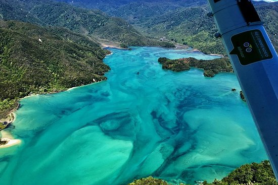 Awaroa Scenic Flight