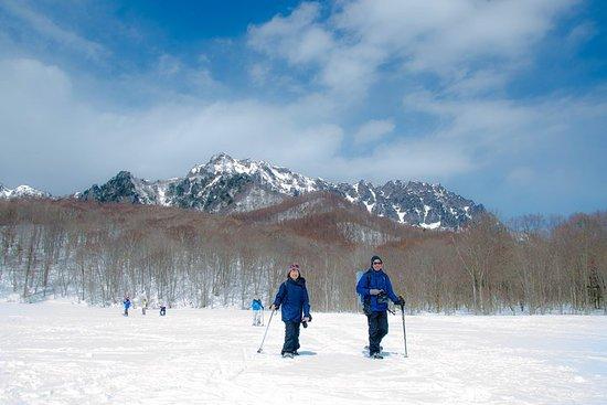 長野スノーシューハイキングツアー