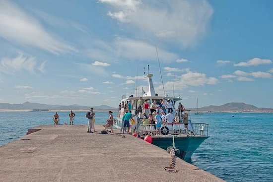 Barco a la Isla de Lobos (Corralejo...