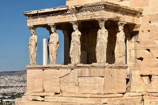 Athens Highlights & Sounio Temple of Poseidon Full Day Private Tour