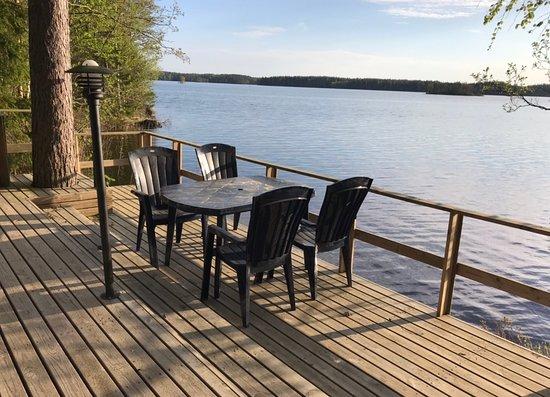 Ruokolahti, Finlandia: lakeshore terrace