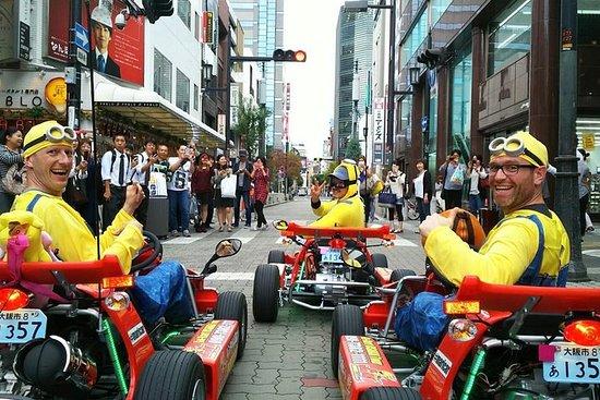Recorrido grupal de karting callejero...