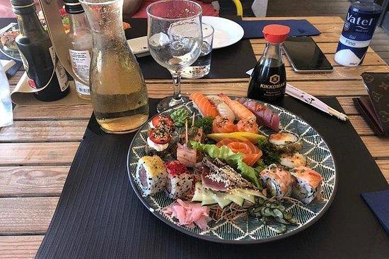 Día de playa y sushi todo incluido.
