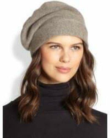 Cashmere boyfriend hat