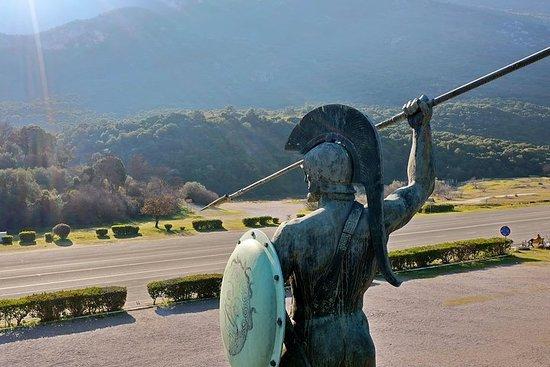 Maraton og Thermopylae Battlefields privat dagstur