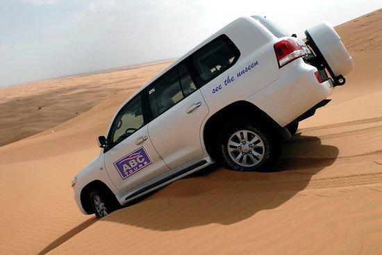 Safari por el desierto de dunas rojas...