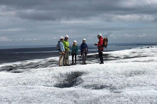 Randonnée au glacier Vatnajökull au...
