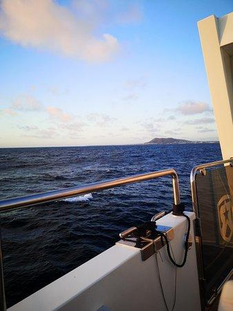 Lanzarote: Ferry return ticket to Fuerteventura with wifi: Can see Lanzarote en route back