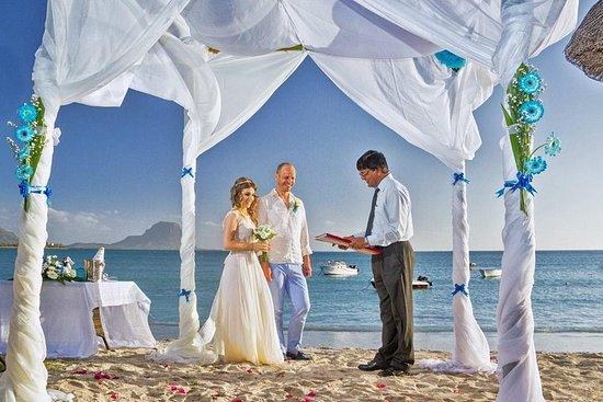 Mariage sur la plage, un rêve...