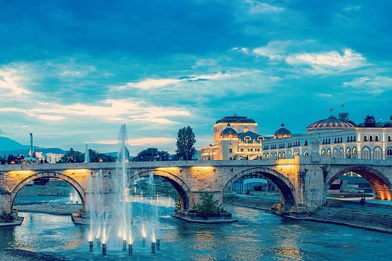 Excursion d'une journée à Skopje...