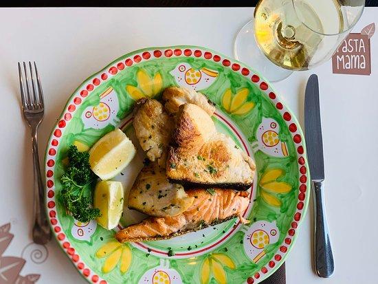 Grigliata di Pesce Spada e Salmone
