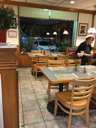 Montclair Family Restaurant dining area