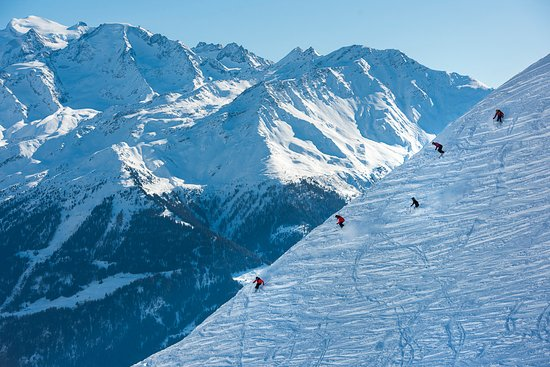 Verbier, Suiza: what a scenery
