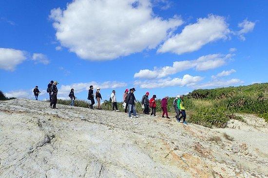 Wanderung, um die spektakulären Kerama Blue und Inoue zu genießen