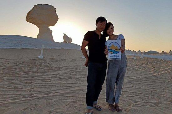 Tour di 3 giorni 2 notti nel deserto bianco e nell'oasi di Bahariya