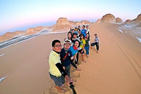 Tour di 4 giorni nel deserto bianco e nell'oasi di Bahariya