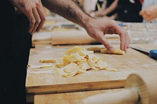 Preparación de pasta con degustación...