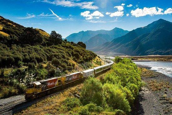 Excursão TranzAlpine espetacular de meio dia: Christchurch para...