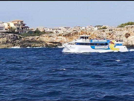 Cala Millor, Spanien: Boat tour