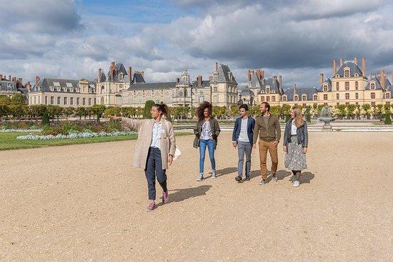 来自巴黎的Fontainebleau&Vaux le Vicomte...