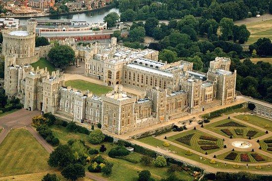 Stonehenge, Castelo de Windsor e Bath...
