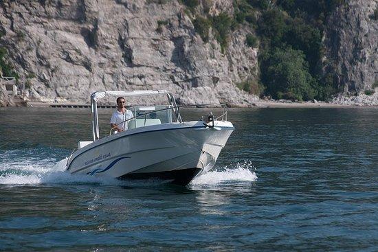 Boottocht langs de Amalfikust