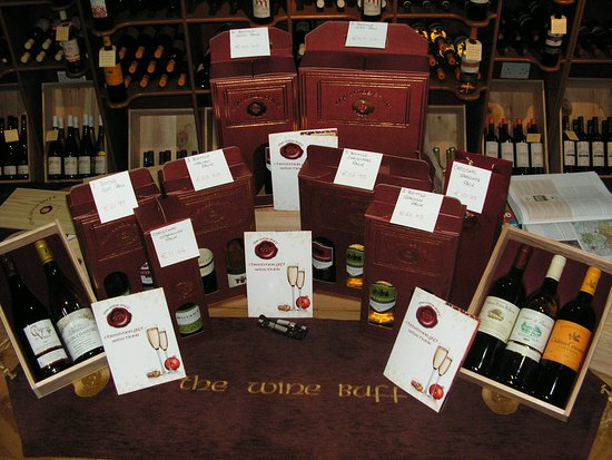 Portarlington, Irland: A selection of wines