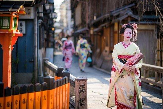 Visite privée d'une journée à Kyoto avec un guide sous licence...