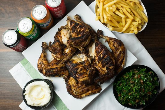 Beirut charcoal chicken