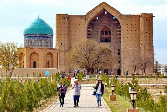 Arystan Bab and Khoja Ahmed Yasawi Mausoleums