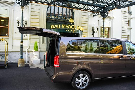 Privat overføring fra Yvoire til Genève lufthavn