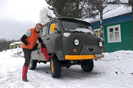 Adventure Tour: Winter Off-Roading in a Soviet Military Van & Caving