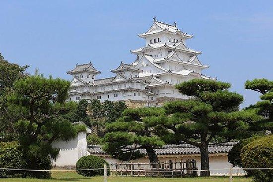 姬路城世界遗产和明石海峡大桥步行游从大阪出发
