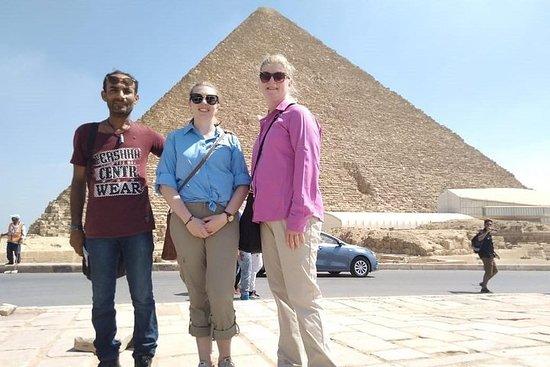 吉薩金字塔和大獅身人面像半日遊