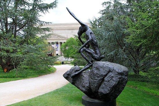 Princeton y parque de esculturas