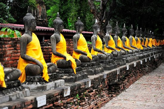 Ganztägige Bustour von Bangkok nach...