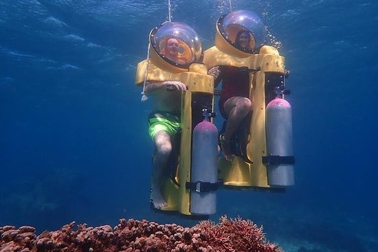 Underwater Scooter in Boracay Resmi