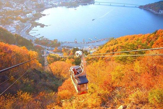La meilleure tournée des taches d'automne de Fuji (téléphérique...