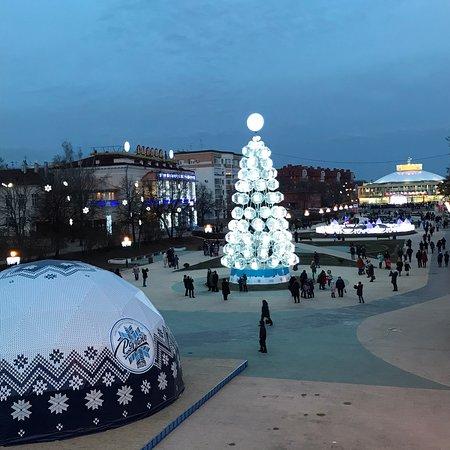 Ryazan, Russia: Рязань - Новогодняя столица России 2020 г. Без снега:(