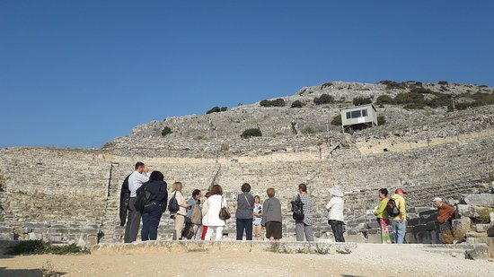 Philippi, Griekenland: Ξενάγηση στου Φιλίππους
